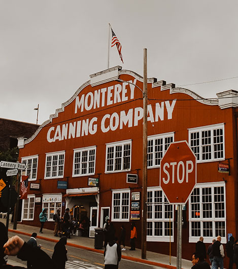 Cannery Row In California