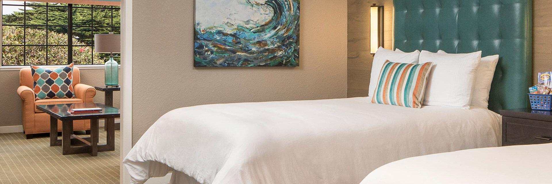 Accommodations In Wave Street Inn Monterey California