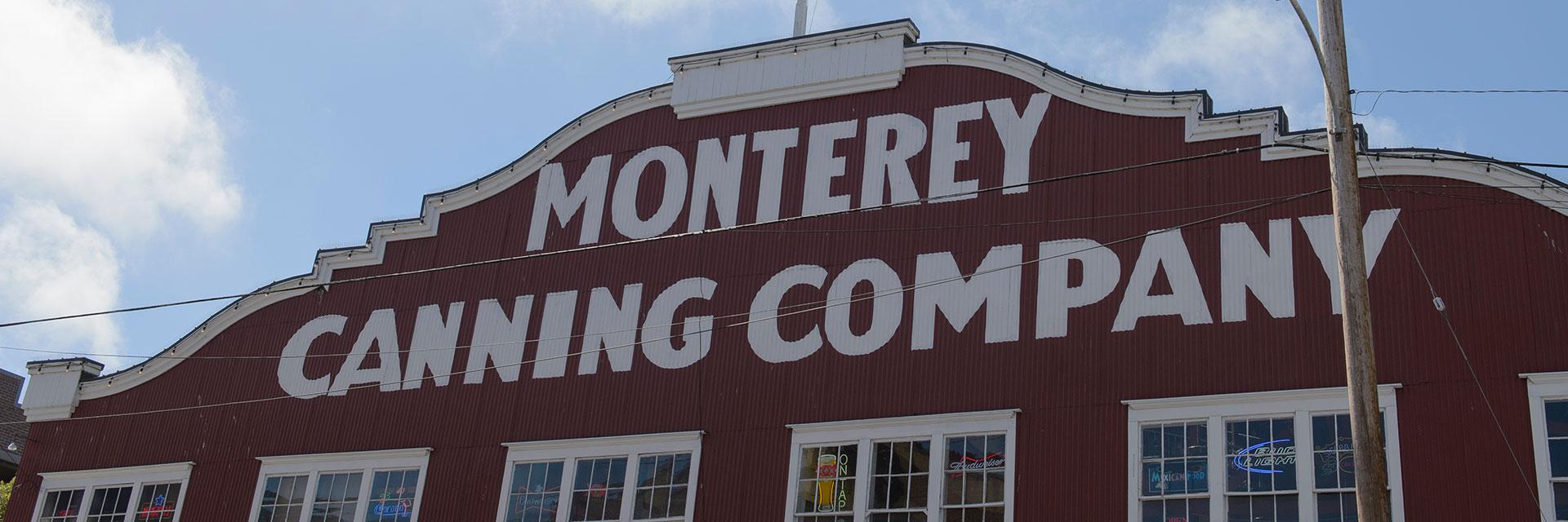 Location Of Wave Street Inn Monterey California