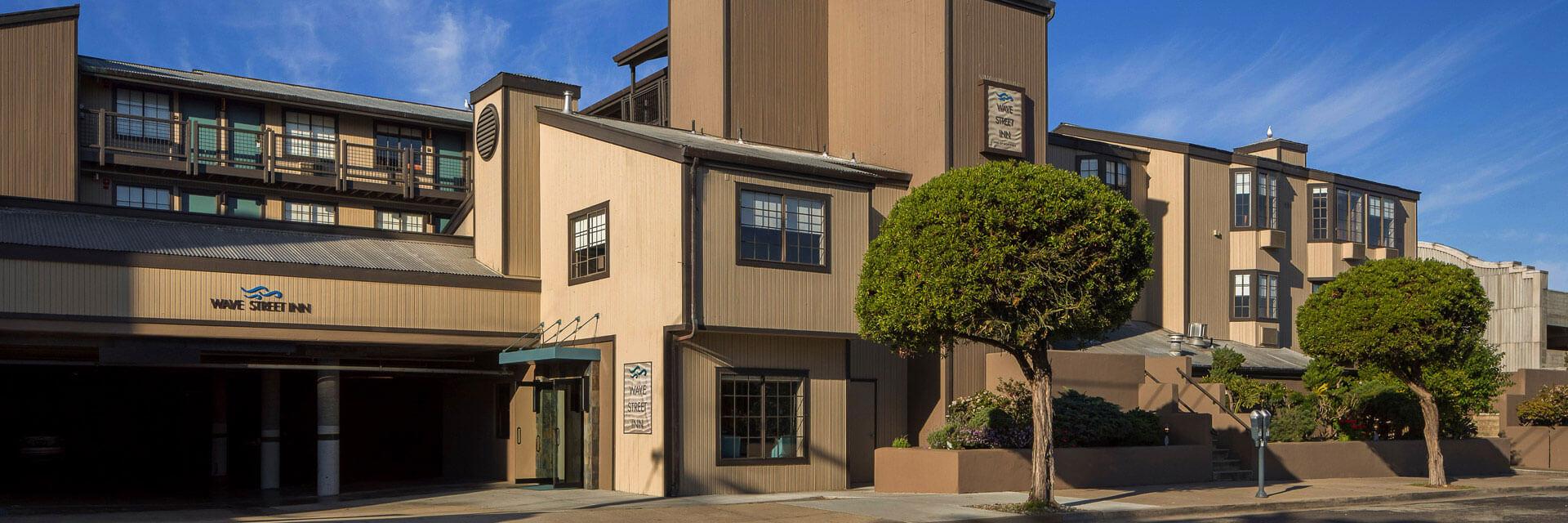 Site Map Of Wave Street Inn Monterey California